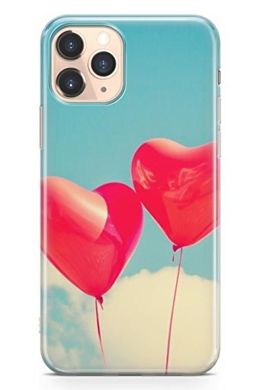 Lopard İphone 11 Pro Kılıf Silikon Arka Kapak Koruyucu Balon Rüyalar Desenli Full HD Baskılı Renkli